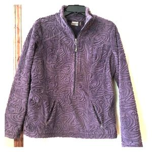 Athlete pullover jacket